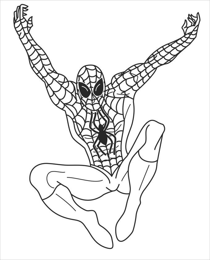 Super Heroes Coloring Page Superhero Coloring Pages Coloring Pages