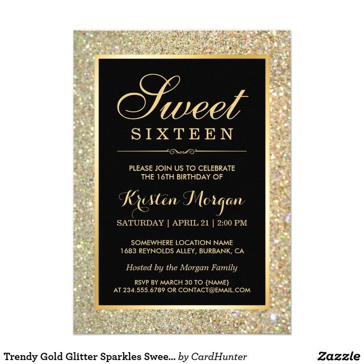 Sweet 16 Invite Template 881 Best Sweet Sixteen Invitations Images On Pinterest