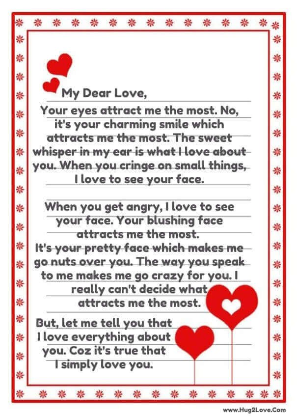 Sweet Letter to Boyfriend Love Poems for Your Boyfriend that Will Make Him Cry