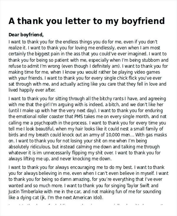 Sweet Letter to Boyfriend Thank You Letter to A Friend Leaving 28 Goodbye