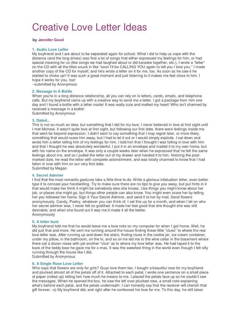 Sweet Letters to Boyfriend Best 25 Letters to Your Boyfriend Ideas On Pinterest