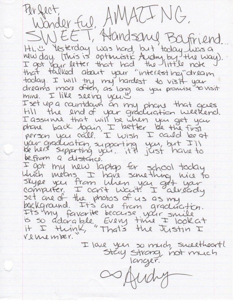 Sweet Letters to Boyfriend Cute Short Love Letters to Your Boyfriend