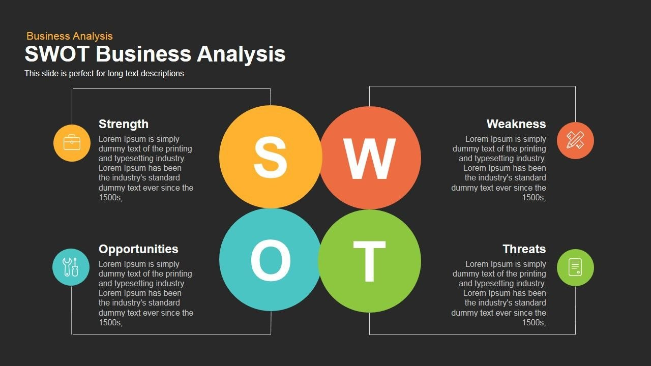 Swot Analysis Template Ppt Swot Business Analysis Powerpoint and Keynote Template