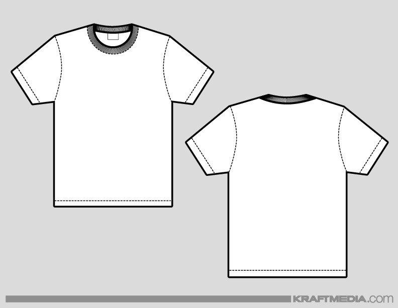 T Shirt Design Template Illustrator Kraftmedia Custom Decorated Merchandise T Shirt Printing
