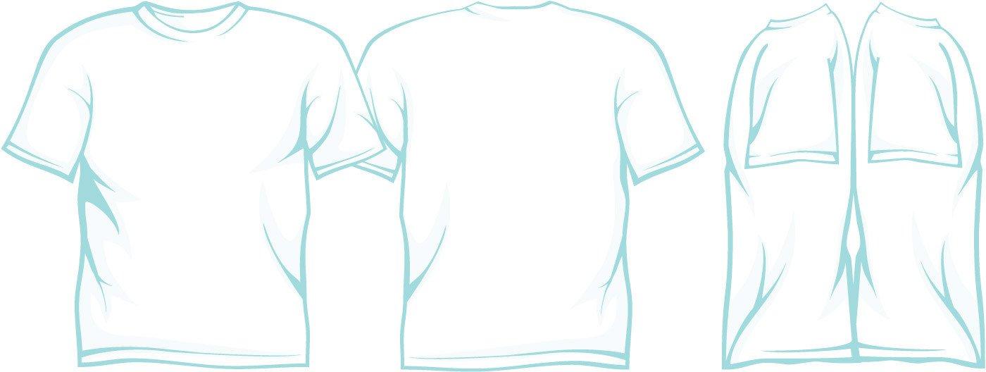 T Shirt Design Template Illustrator T Shirt Template Illustrator
