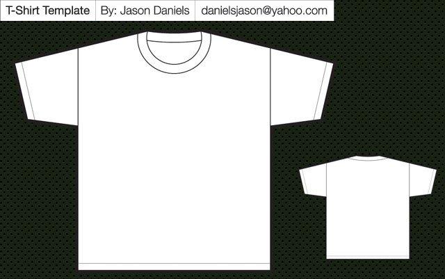 T Shirt Design Template Illustrator Tee Shirt Template Illustrator