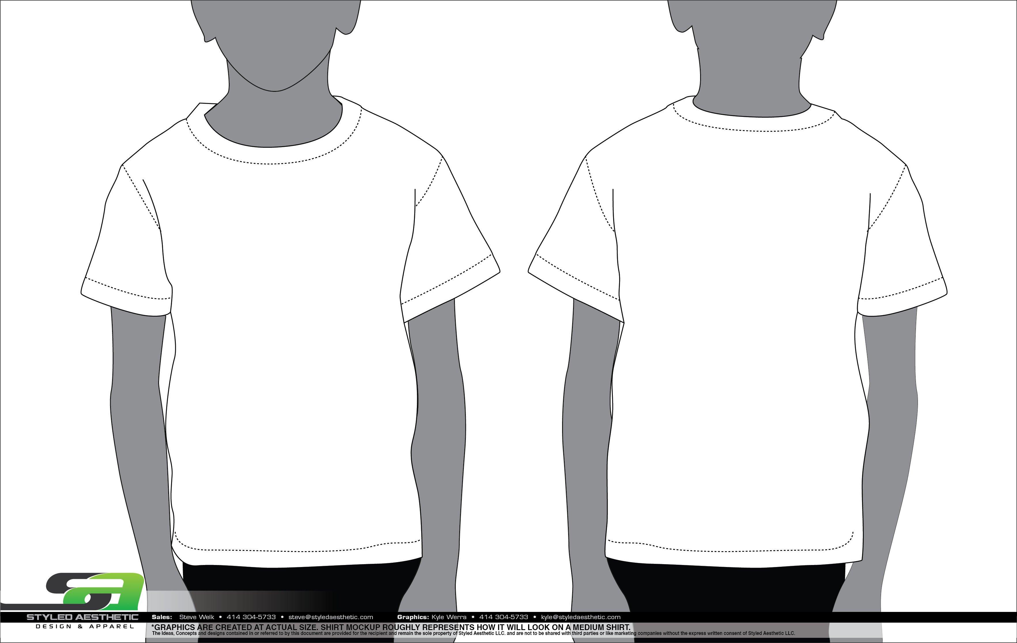T Shirt Design Template Illustrator Templates Styled Aesthetic