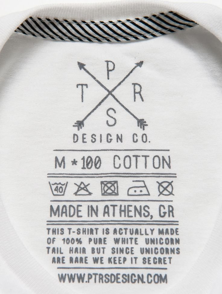 T Shirt Tag Template 25 Best Ideas About Clothing Labels On Pinterest