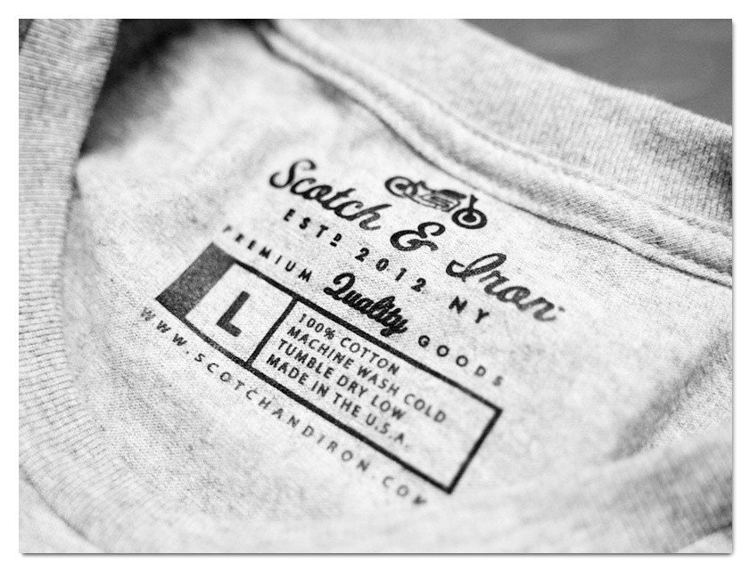 T Shirt Tag Template How to Put Your Brand First with Inside Label Printing