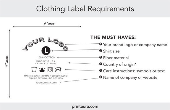 T Shirt Tag Template Ultimate Guide to the Legal Requirements for T Shirt