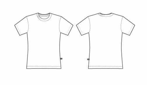 T Shirt Template Design areo Tech Designs Custom