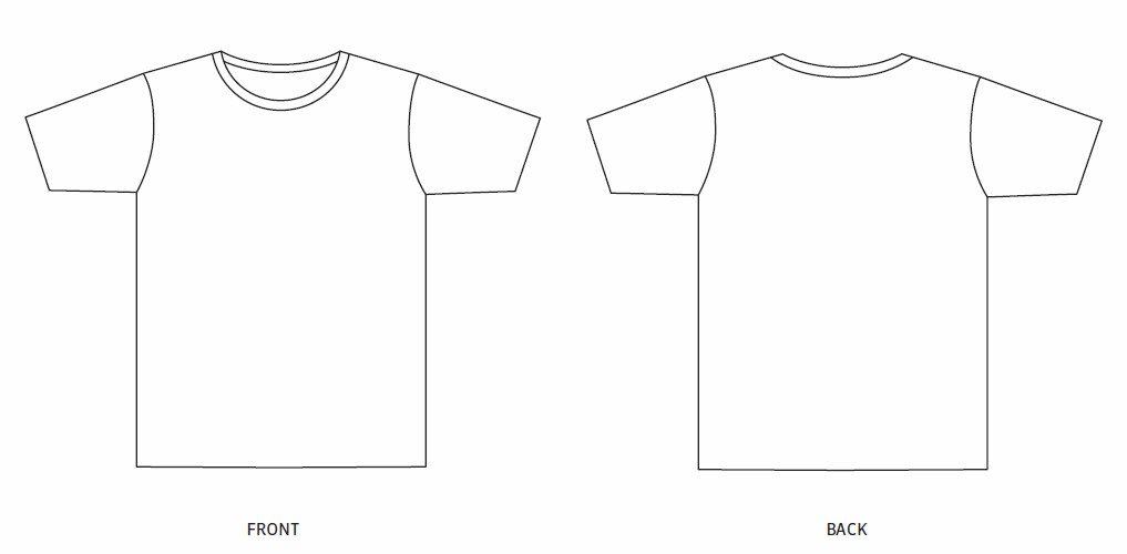 T Shirt Template Design Design Template Sustainable Uni T Shirt