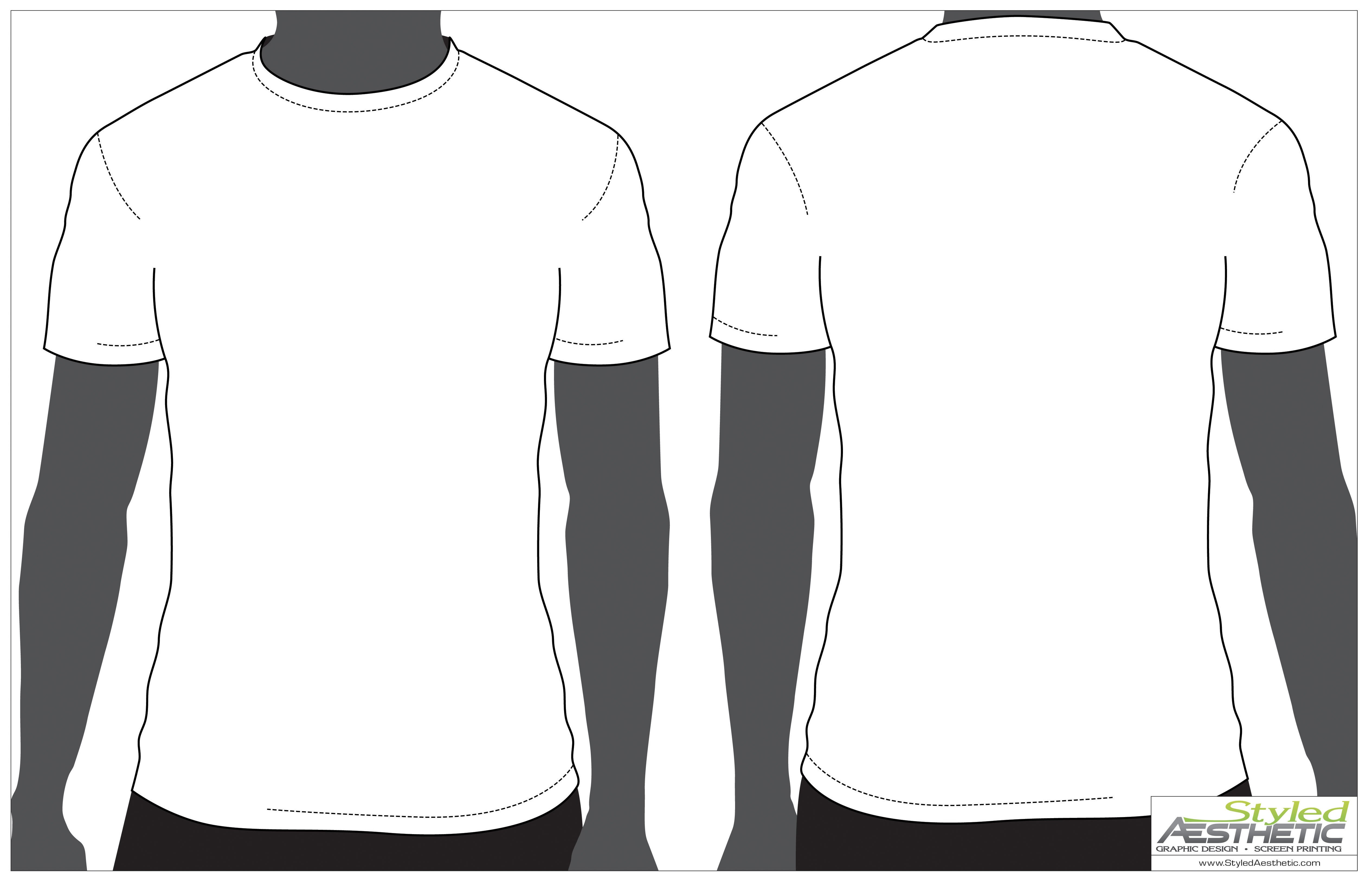 T Shirt Template Design Free Blank T Shirt Outline Download Free Clip Art Free