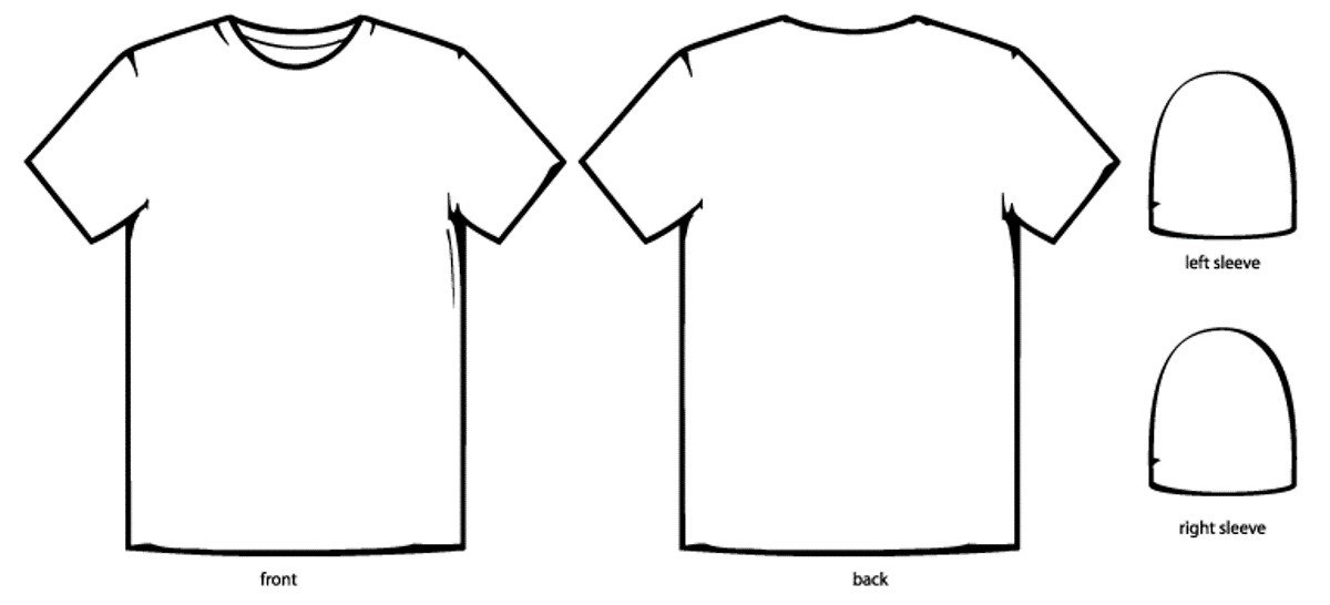 T Shirt Template Design T Shirt Design Template