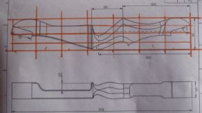 Takedown Bow Riser Template Recurve Bow Riser Template Google Search