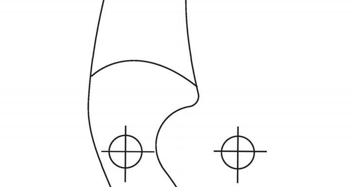 Takedown Bow Riser Template Riser Template Pdf Archery Pinterest