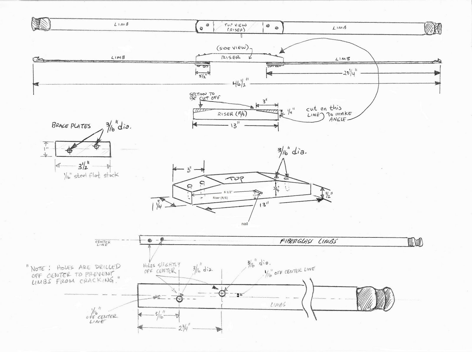 Takedown Bow Riser Template Wooden Bow and Arrow Rack Plans Learn How Backyard Arbor