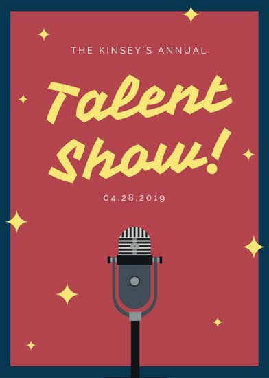 Talent Show Flyer Template Customize 127 Talent Show Flyer Templates Online Canva