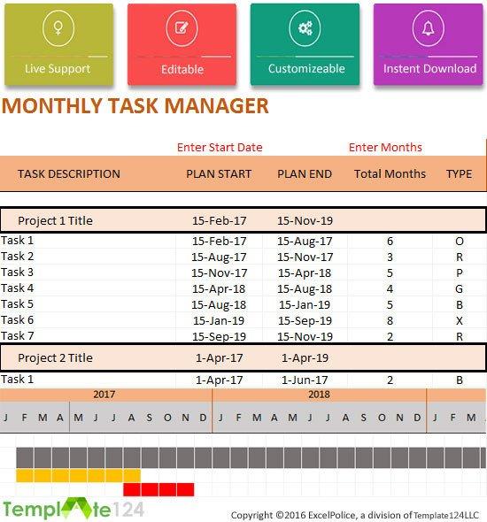 Task Checklist Template Excel Sales Excel Dashboard Spreadsheet Templates