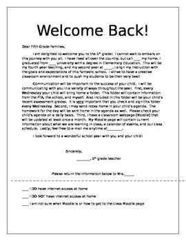 Teacher Welcome Letter Template Wel E Letters Winter Breaks and Teacher Appreciation