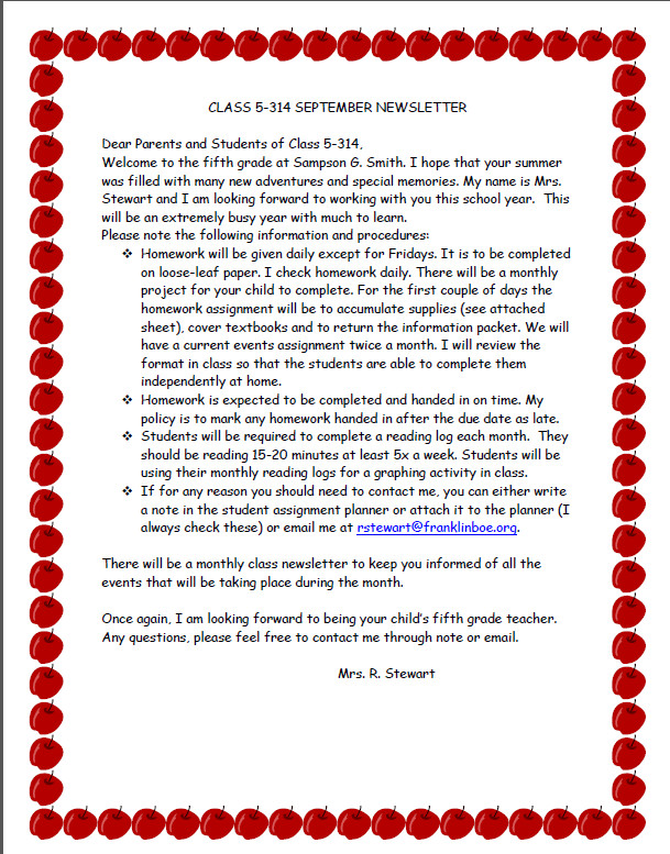 Teacher Welcome Letter Template Wel Ing Students before the First Day Of School