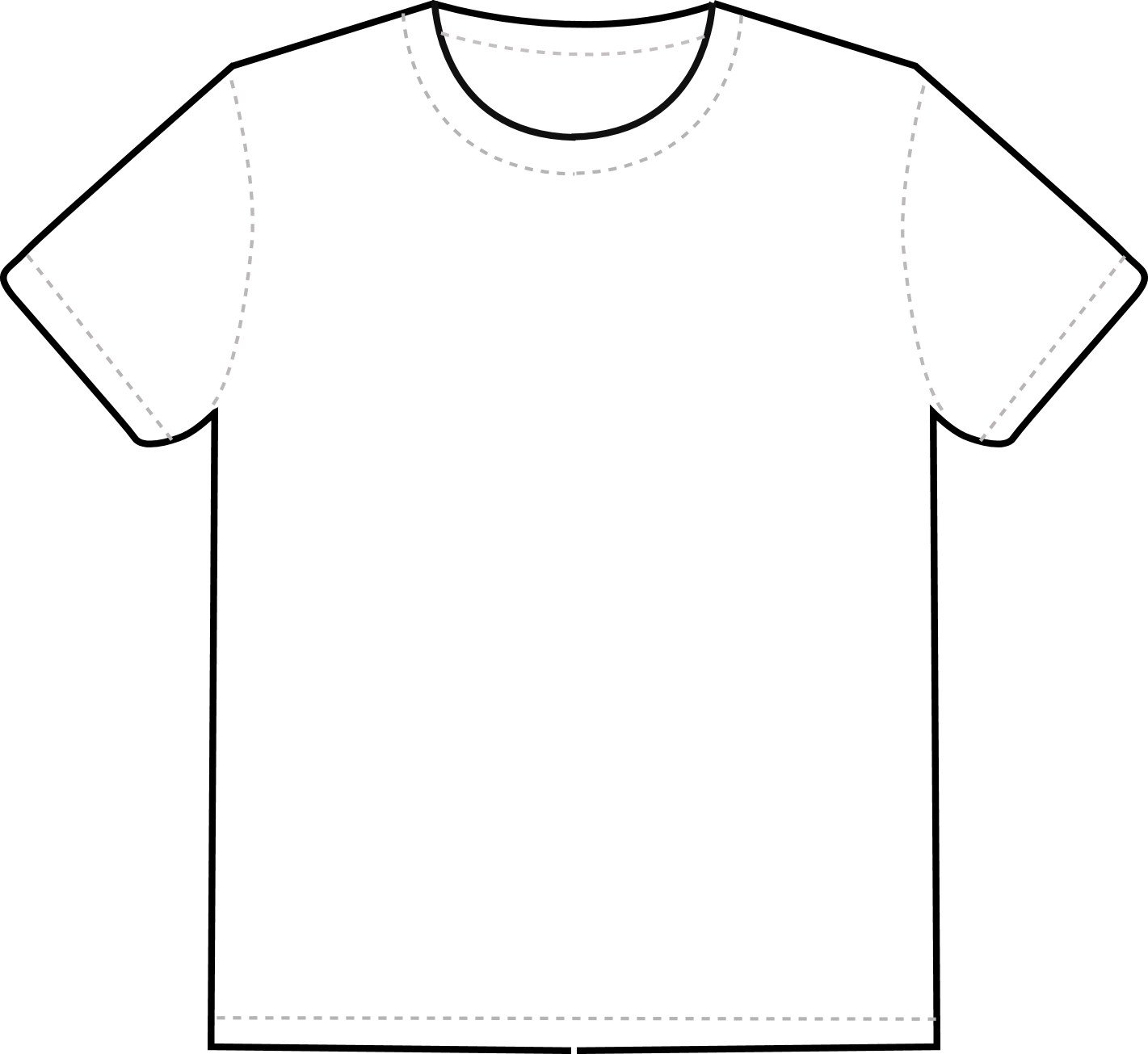Tee Shirt Design Template Free T Shirt Template Printable Download Free Clip Art