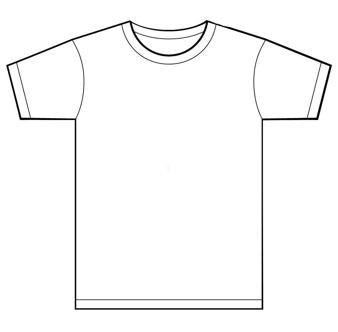 Tee Shirt Design Template T Shirt Designs Clipart Clipart Kid Clipart