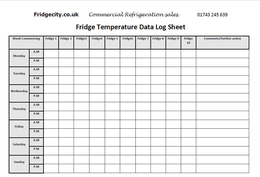Temperature Log Template Excel 22 Of Temperature and Humidity Template Sheet