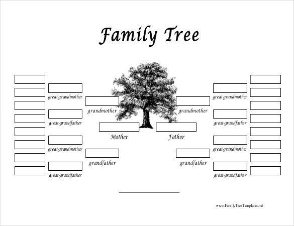 Template for Family Tree 35 Family Tree Templates Word Pdf Psd Apple Pages