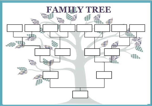 Template for Family Tree Family Tree Template 29 Download Free Documents In Pdf
