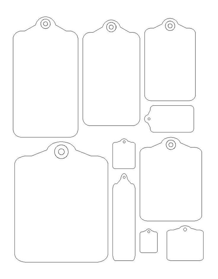 Template for Gift Tags 1000 Ideas About Tag Templates On Pinterest