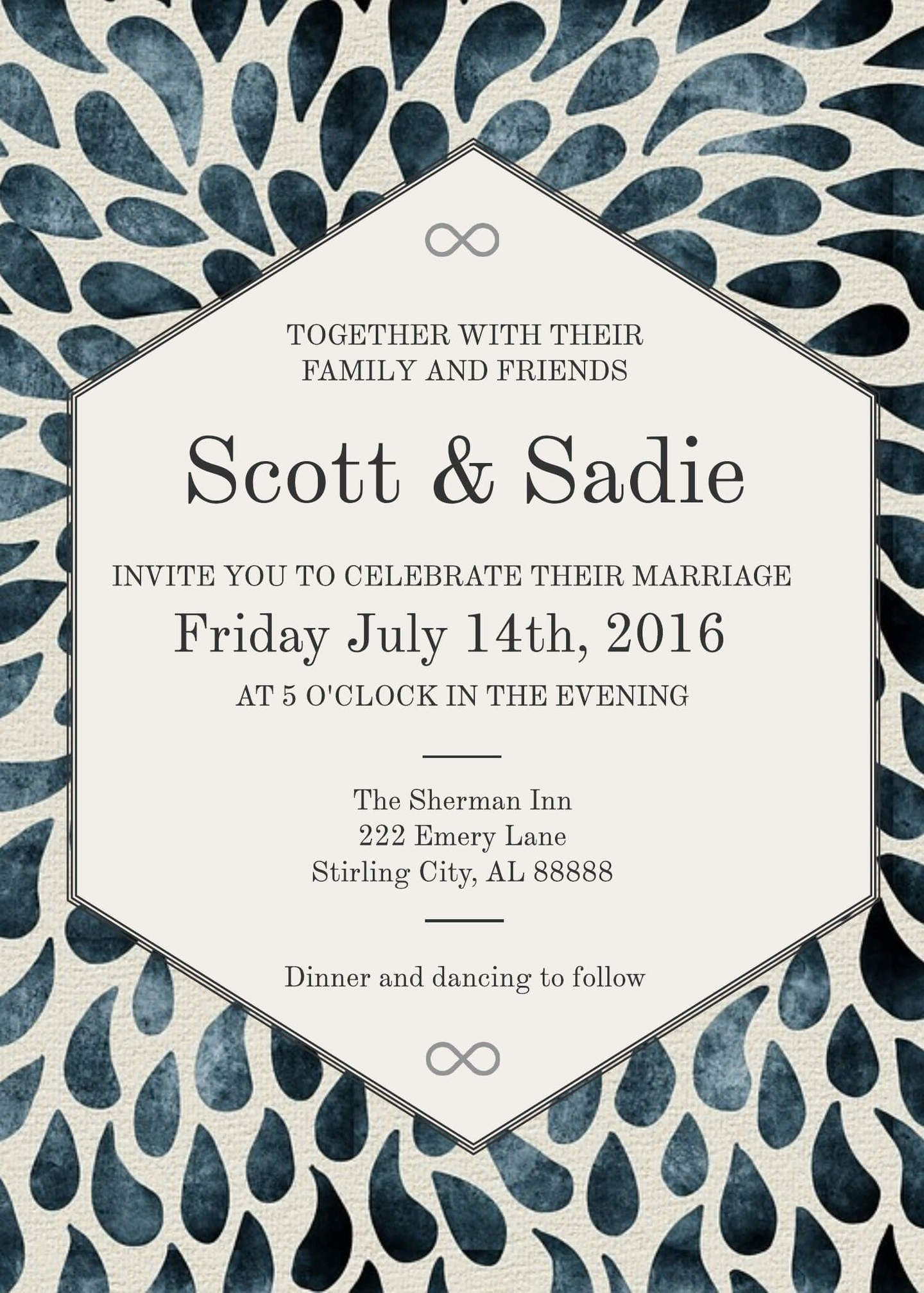Template for Wedding Invitations 16 Free Invitation Card Templates & Examples Lucidpress