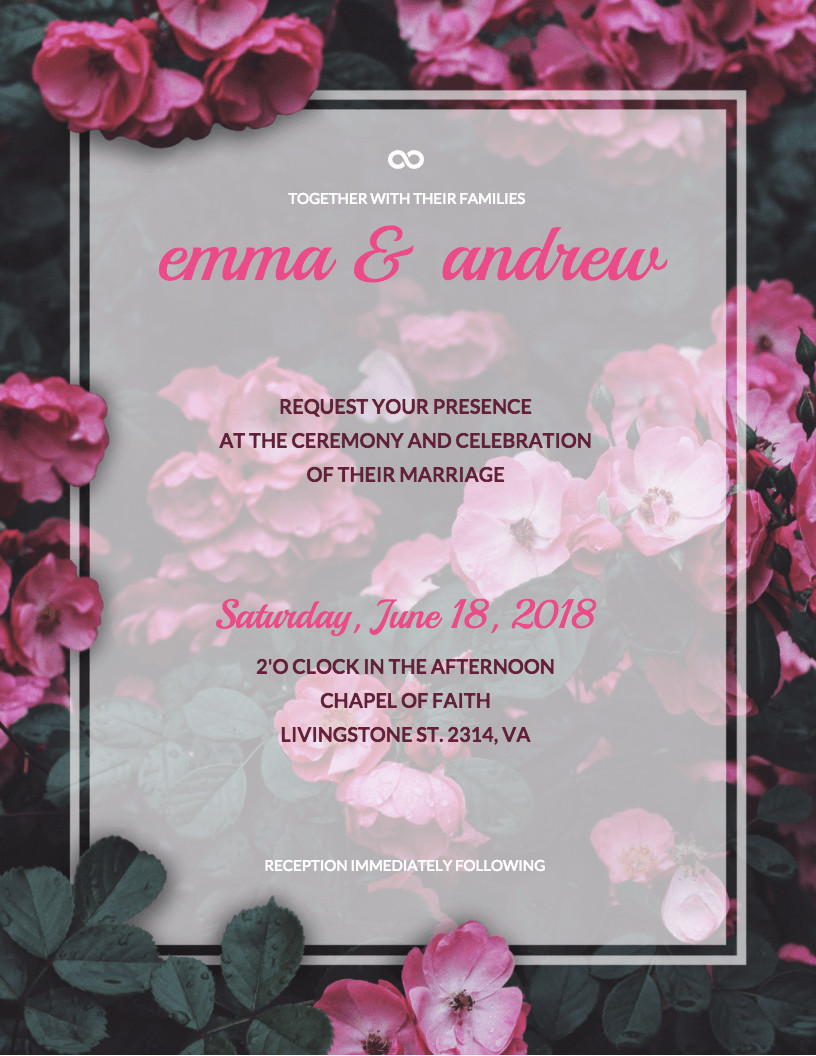 Template for Wedding Invitations 19 Diy Bridal Shower and Wedding Invitation Templates