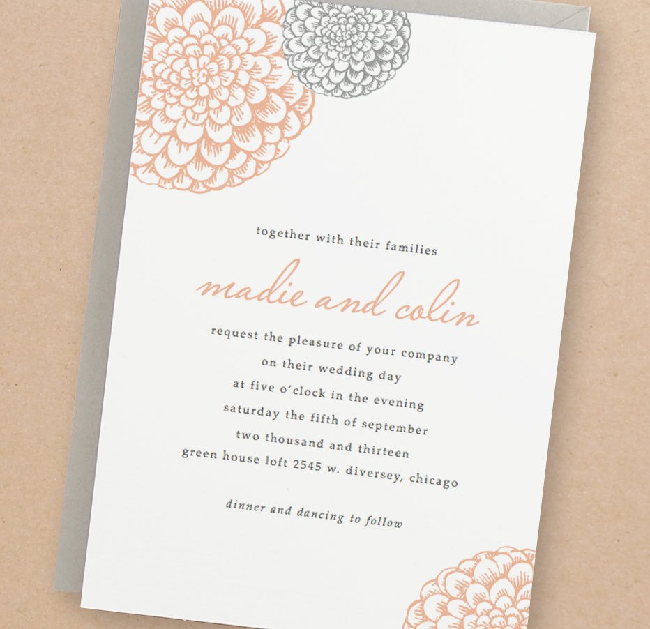 Template for Wedding Invitations Printable Wedding Invitation Template Instant Download