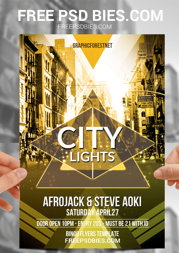 Templates for Flyers Free 25 Free Psd Party Flyer Templates