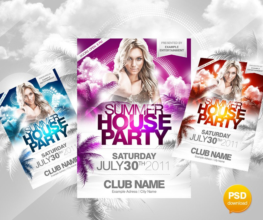 Templates for Flyers Free 30 Best Print Ready Psd Flyer Templates Designbump