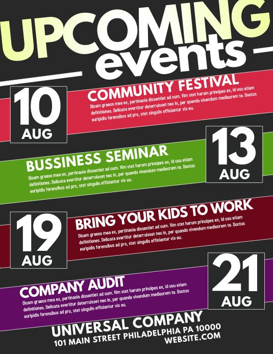 Templates for Flyers Free event Flyer Templates Free Downloads
