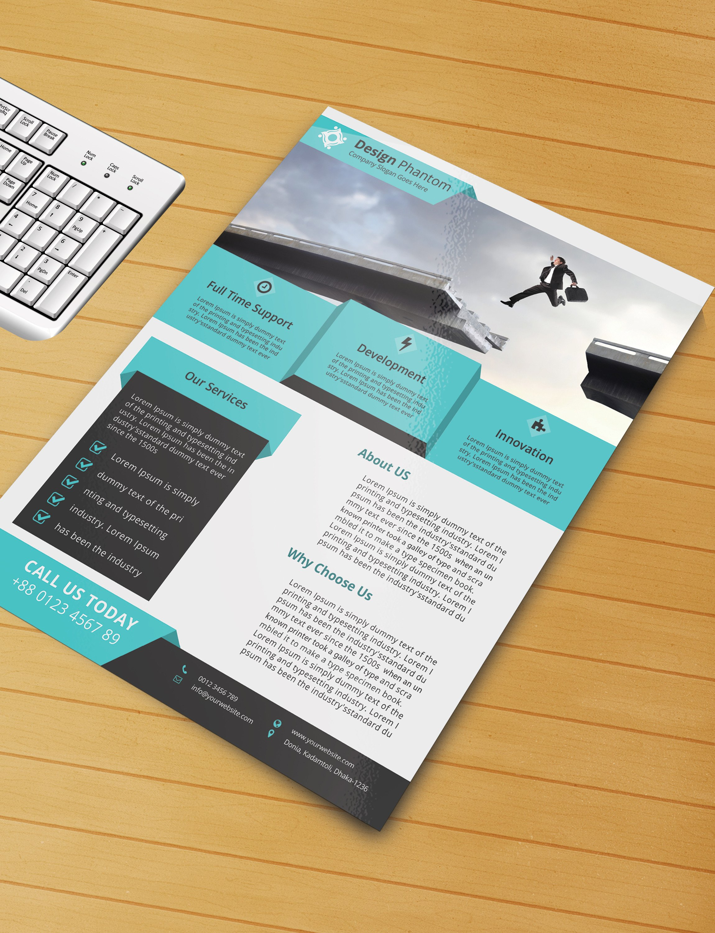 Templates for Flyers Free Free Flyer Psd Template Free Download by Designphantom
