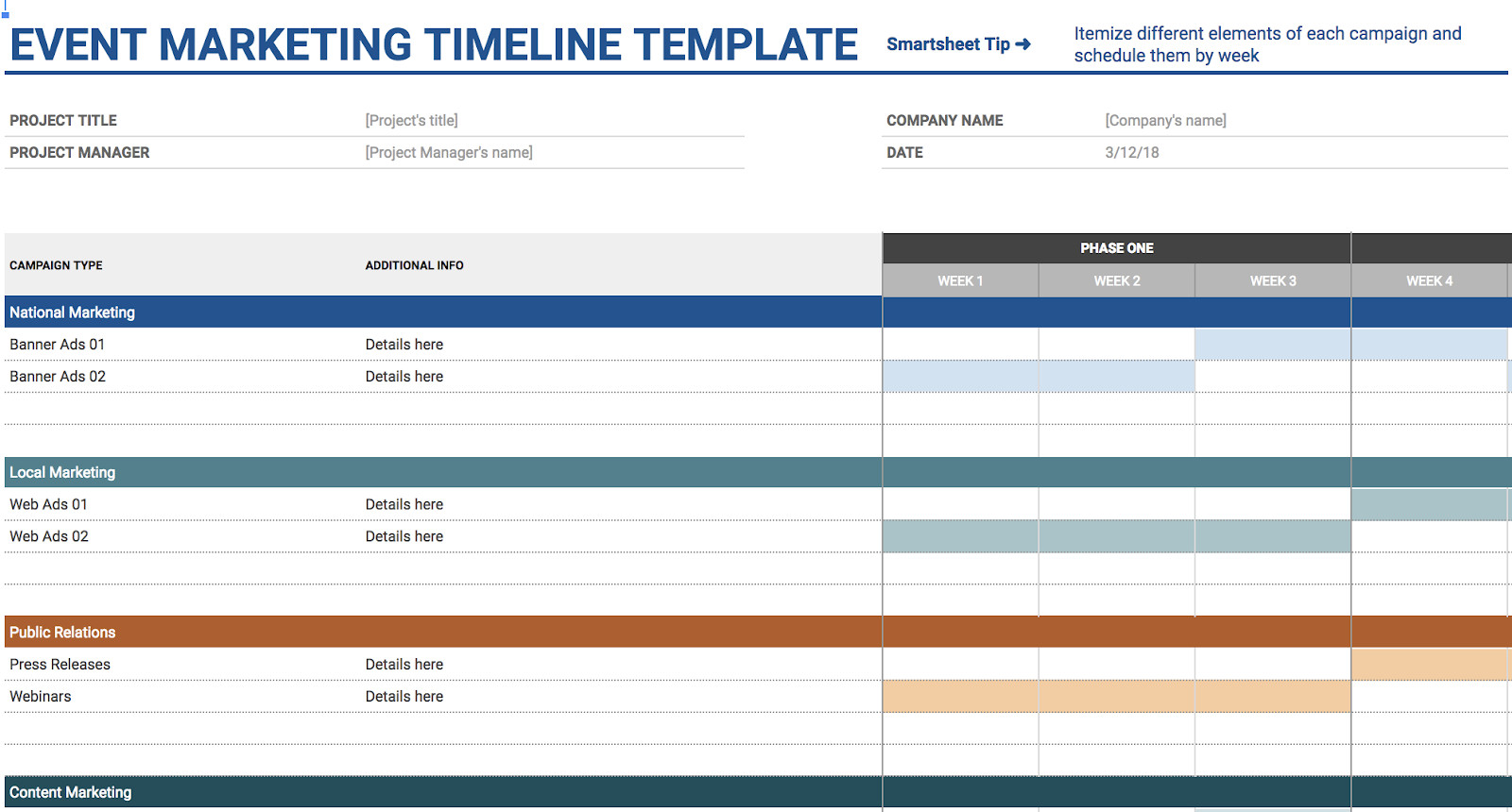 Templates for Google Sheets 11 Of the Best Free Google Sheets Templates for 2019
