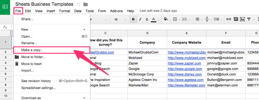 Templates for Google Sheets Spreadsheet Crm How to Create A Customizable Crm with