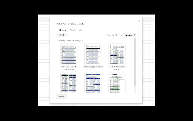Templates for Google Sheets Template Gallery Google Sheets Add On