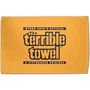 Terrible towel Pictures Amazon Nfl Pittsburgh Steelers original Terrible
