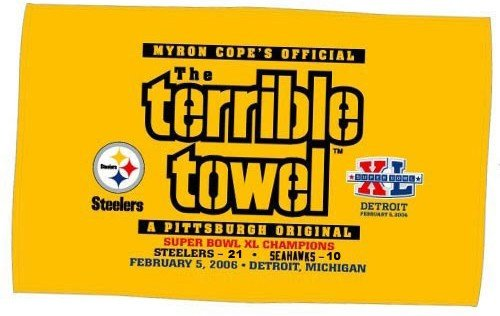 Terrible towel Pictures Highest Branch Pittsburgh Steeler Trivia