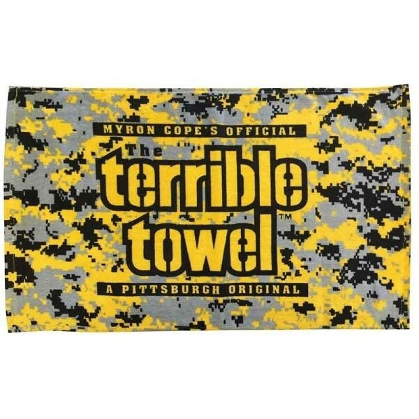 Terrible towel Pictures Pittsburgh Steelers Myron Cope Digital Camo Terrible towel