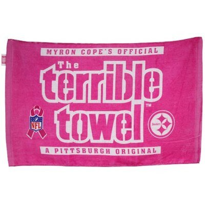 Terrible towel Pictures Pittsburgh Steelers Pink Breast Cancer Awareness Myron