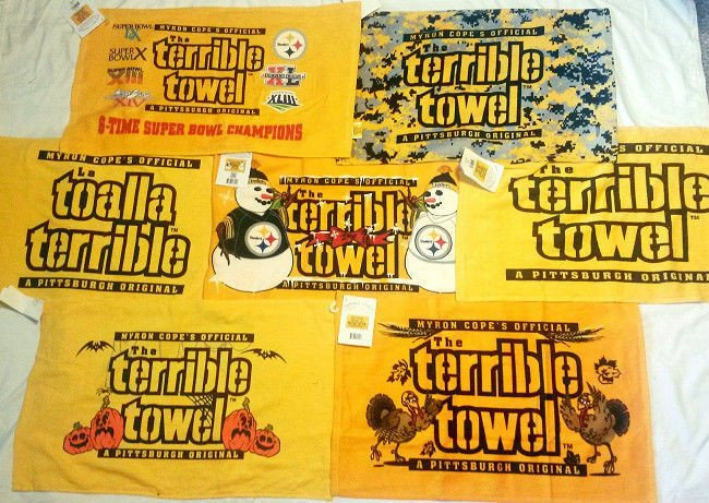 Terrible towel Pictures Pittsburgh Steelers Terrible towel Turkey Xmas Camo Irish