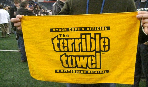 Terrible towel Pictures the Steelers Terrible towels