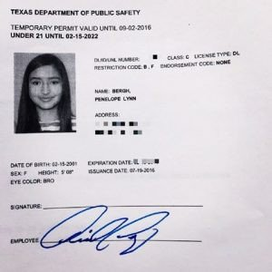 Texas Temporary Paper Id Fake Index Of Cdn 29 2015 304