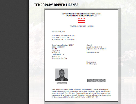 Texas Temporary Paper Id Fake the Old Reader