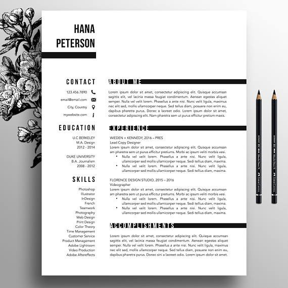 Textedit Resume Template Professional Resume Template Cover Letter Template